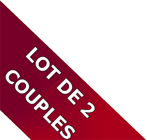 Lot de 2 couples
